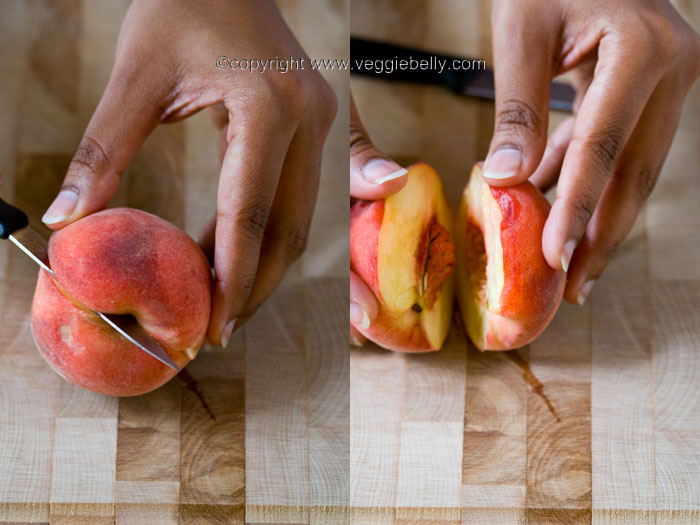 cut-peach-vertically