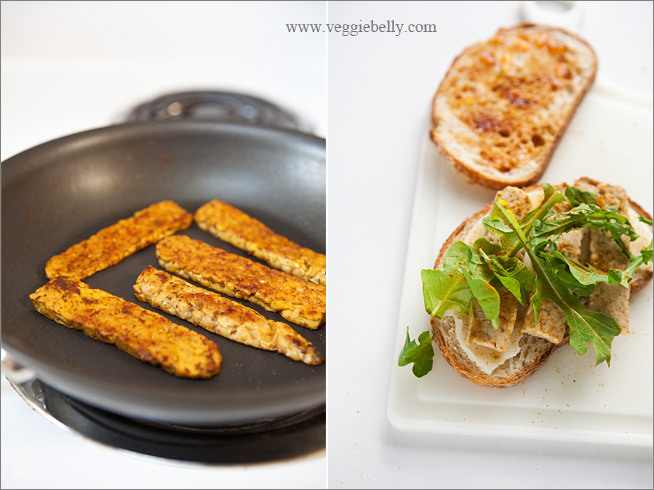 Curried Tempeh Grilled Cheese Sandwich with Mango Chutney | Veggie ...