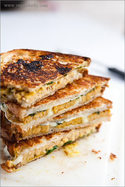 Grilled Cheese Sandwich With Mango Chutney Recipe — Dishmaps