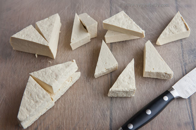 how to cut scones into triangles