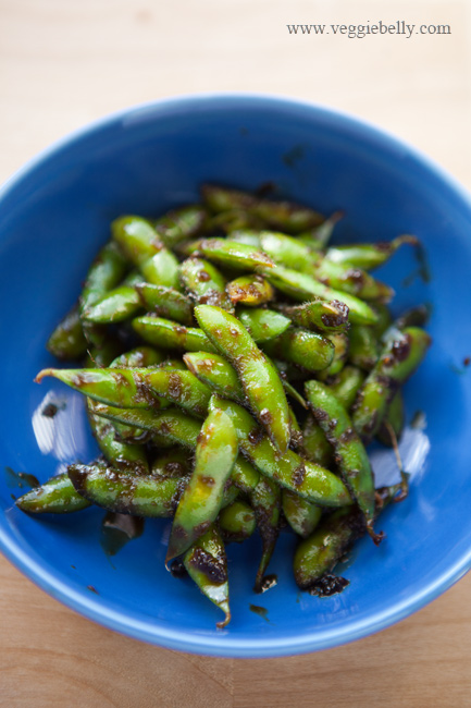 frozen edamame in its shell on hand. You can also use shelled edamame ...