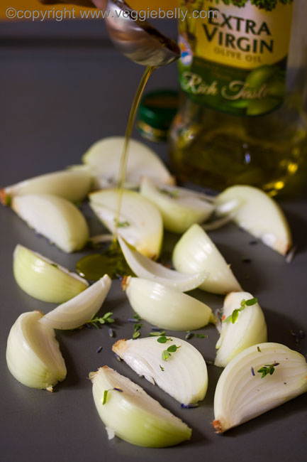 onions and oliveoil