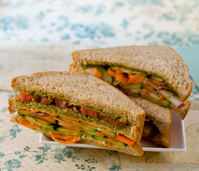 double-layer-summer-vegetable-sandwich