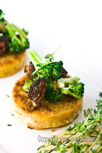 polenta-with-morels-and-broccoli1