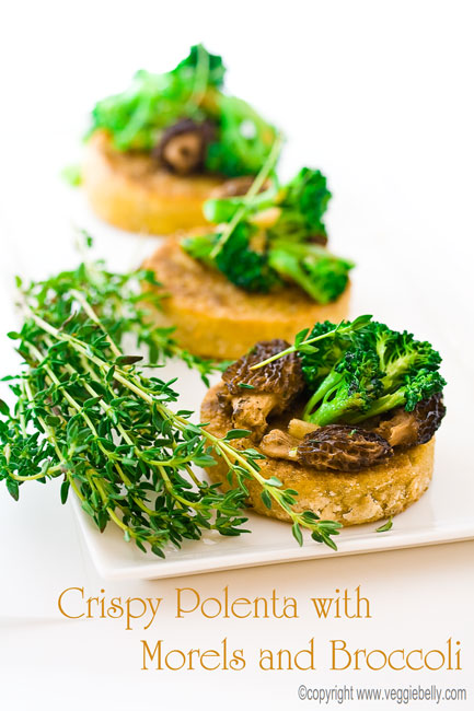 polenta-with-morels-and-broccoli2