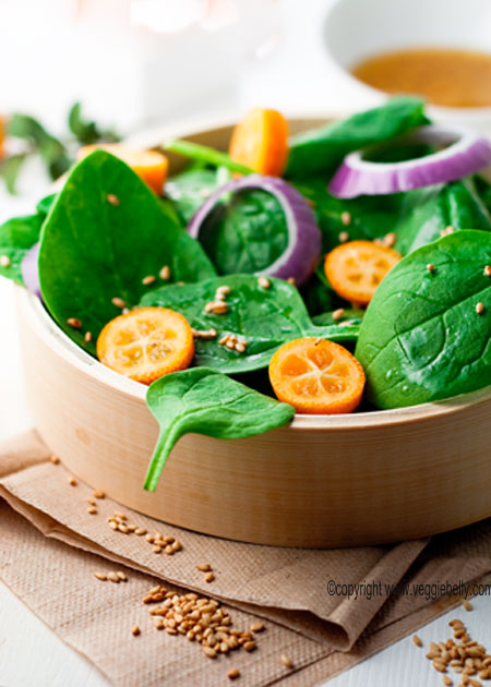 spinach-kumquat-salad