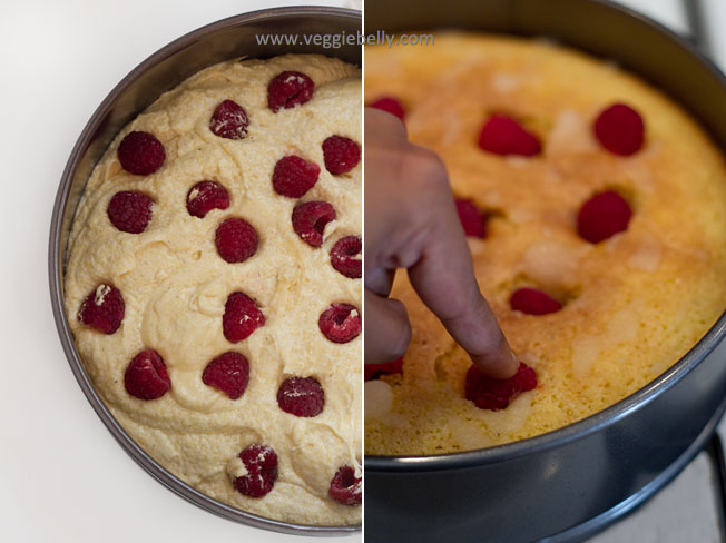 Raspberry filled cake recipes