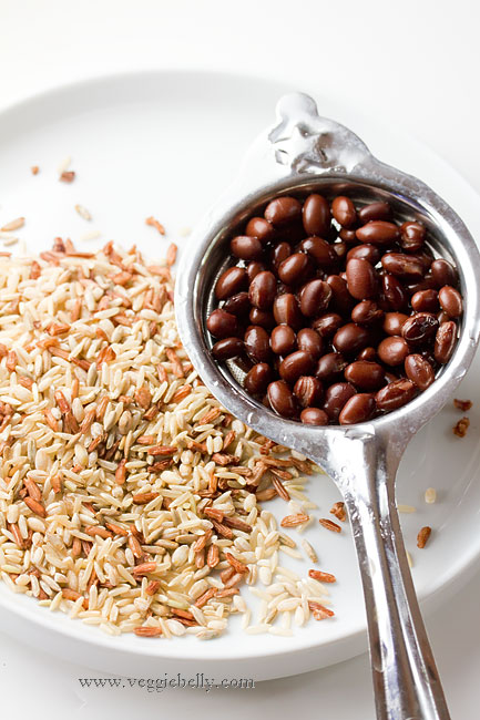 ... and red rice for this recipe. Its nutty, chewy, and just perfect