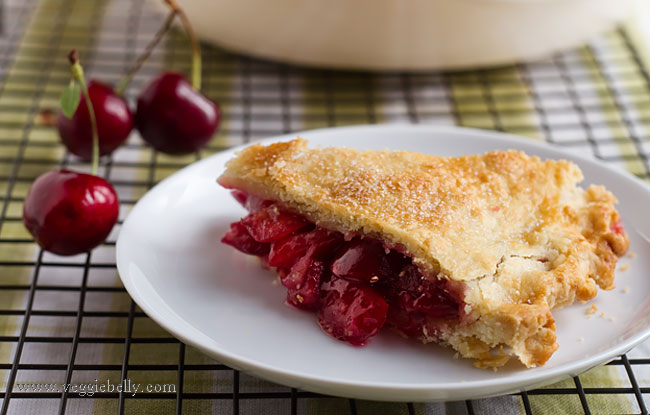 Take the everyday, all-American cherry pie, add some cardamom to it ...