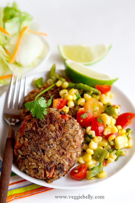 Rice And Bean Burger Recipes Dishmaps
