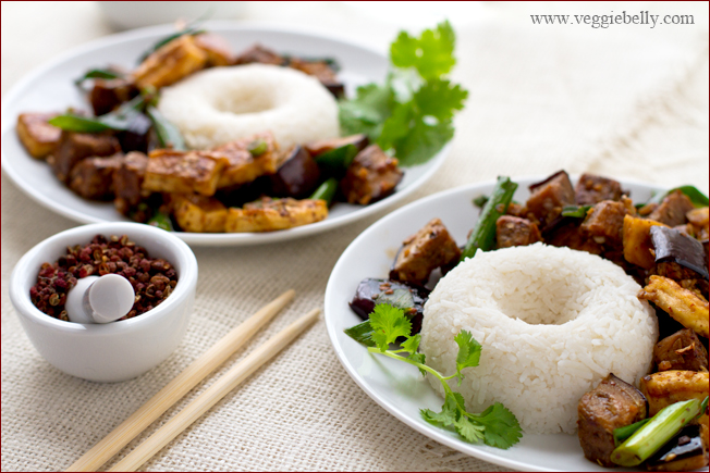 how to cook chinese eggplant and tofu