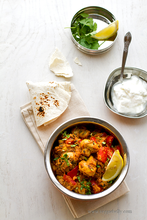 Mushroom Tikka Masala Recipe, a Guest Post on Rasa Malaysia | Veggie ...