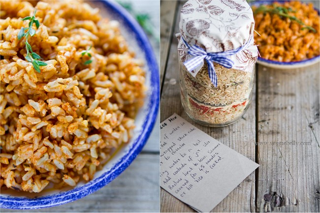 Cajun Dirty Rice Mix in a Jar. Homemade Holiday Gift Ideas for ...